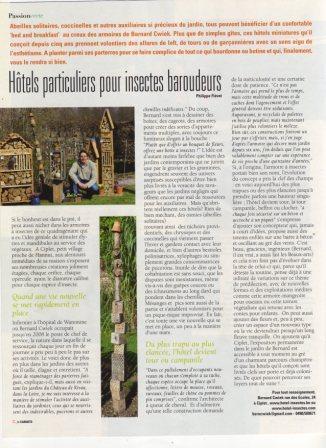 Page 24 du carnet vert de Paris Match de ce 6 juin 2013